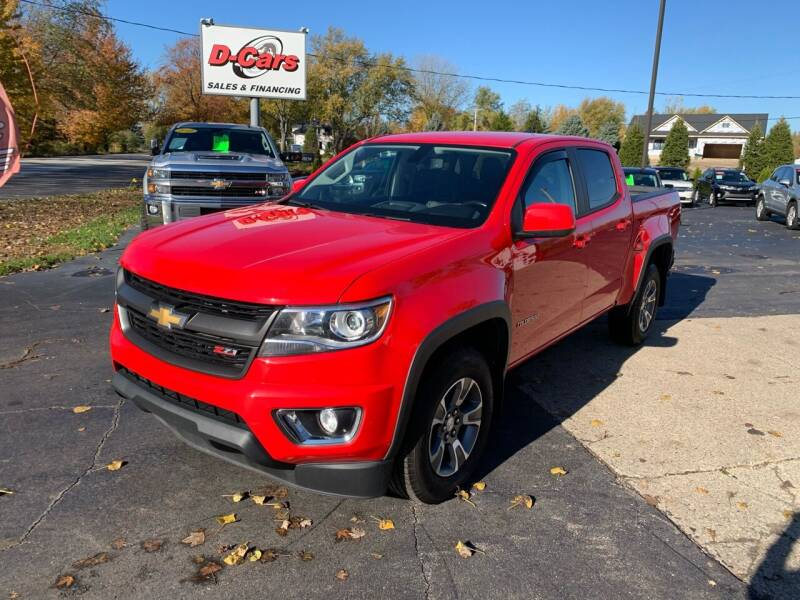 2017 Chevrolet Colorado for sale at D-Cars LLC in Zeeland MI