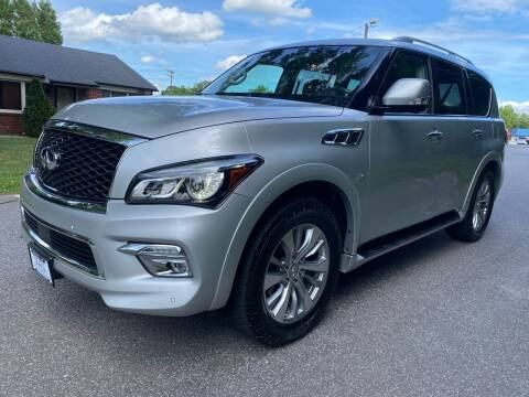 2017 Infiniti QX80 for sale at Viewmont Auto Sales in Hickory NC