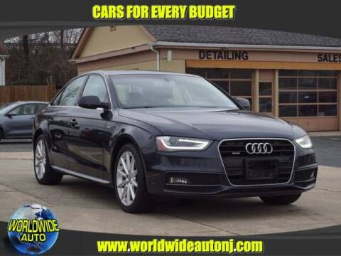 2015 Audi A4 for sale at Worldwide Auto in Hamilton NJ
