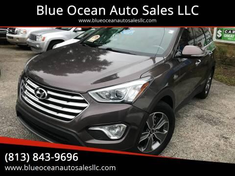 2013 Hyundai Santa Fe for sale at Blue Ocean Auto Sales LLC in Tampa FL