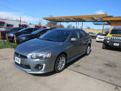 2016 Mitsubishi Lancer for sale at Nile Auto Sales in Denver CO