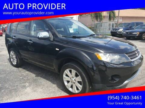 2009 Mitsubishi Outlander for sale at AUTO PROVIDER in Fort Lauderdale FL