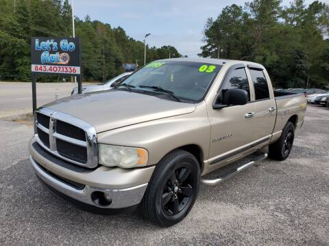 2003 Dodge Ram Pickup 1500 for sale at Let's Go Auto in Florence SC