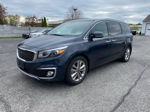 2015 Kia Sedona for sale at Riverside Auto Sales & Service in Portland ME