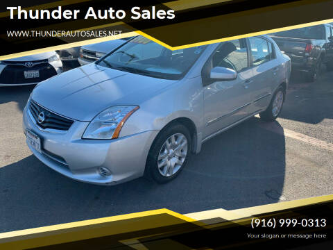 2012 Nissan Sentra for sale at Thunder Auto Sales in Sacramento CA