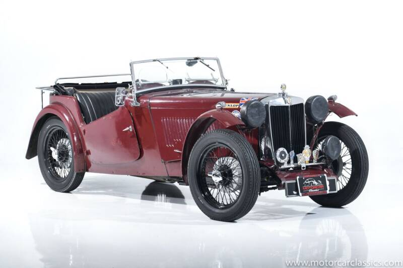 1947 MG TC for sale at Motorcar Classics in Farmingdale NY