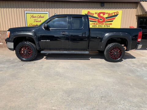 2011 GMC Sierra 1500 for sale at BIG 'S' AUTO & TRACTOR SALES in Blanchard OK