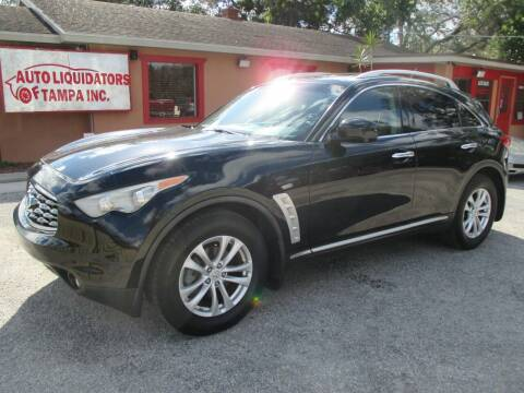 2009 Infiniti FX35 for sale at Auto Liquidators of Tampa in Tampa FL