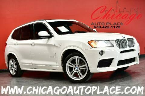 2014 BMW X3 for sale at Chicago Auto Place in Bensenville IL