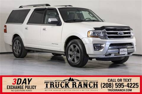 2017 Ford Expedition EL for sale at Truck Ranch in Twin Falls ID