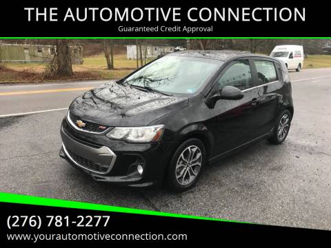 2017 Chevrolet Sonic for sale at THE AUTOMOTIVE CONNECTION in Atkins VA