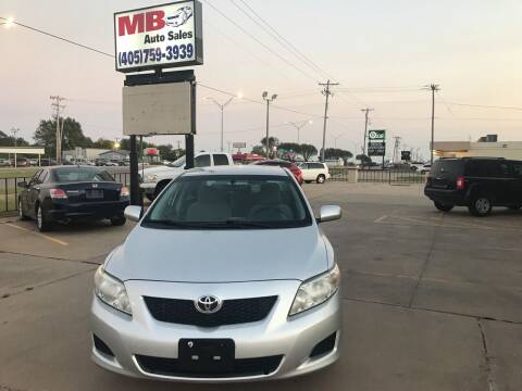 2009 Toyota Corolla for sale at MB Auto Sales in Oklahoma City OK