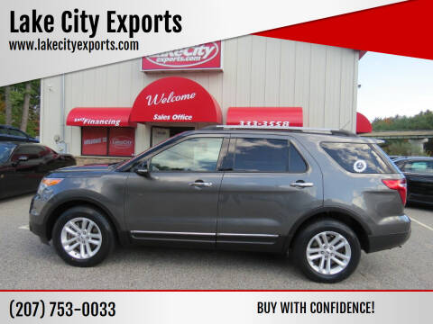 2015 Ford Explorer for sale at Lake City Exports in Auburn ME