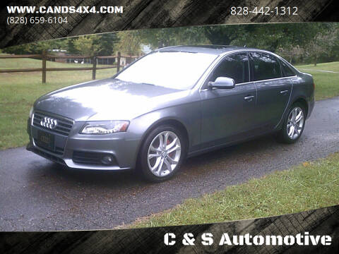 2012 Audi A4 for sale at C & S Automotive in Nebo NC