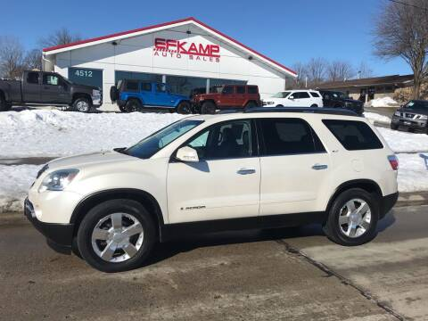 2008 GMC Acadia for sale at Efkamp Auto Sales LLC in Des Moines IA