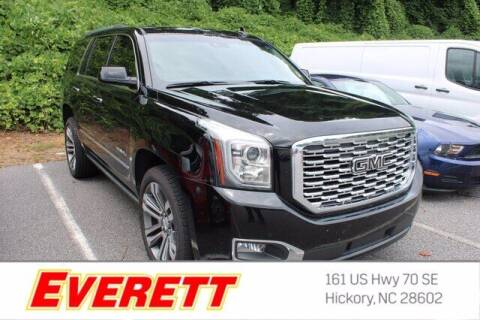 2018 GMC Yukon for sale at Everett Chevrolet Buick GMC in Hickory NC