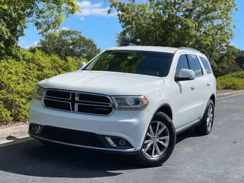 2014 Dodge Durango for sale at William D Auto Sales in Norcross GA