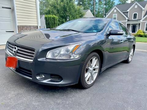 2010 Nissan Maxima for sale at XCELERATION AUTO SALES in Chester VA