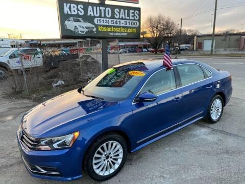 2017 Volkswagen Passat for sale at KBS Auto Sales in Cincinnati OH