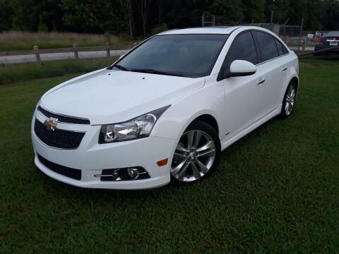 2014 Chevrolet Cruze for sale at Don Roberts Auto Sales in Lawrenceville GA