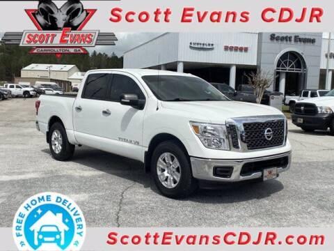 2018 Nissan Titan for sale at SCOTT EVANS CHRYSLER DODGE in Carrollton GA