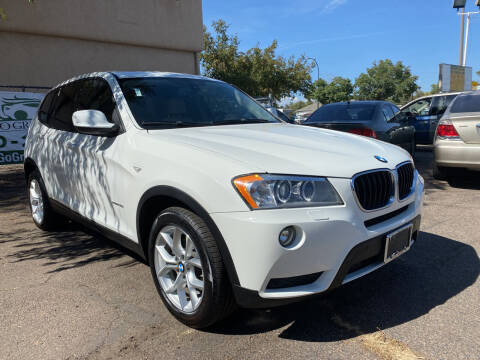 2013 BMW X3 for sale at GO GREEN MOTORS in Lakewood CO
