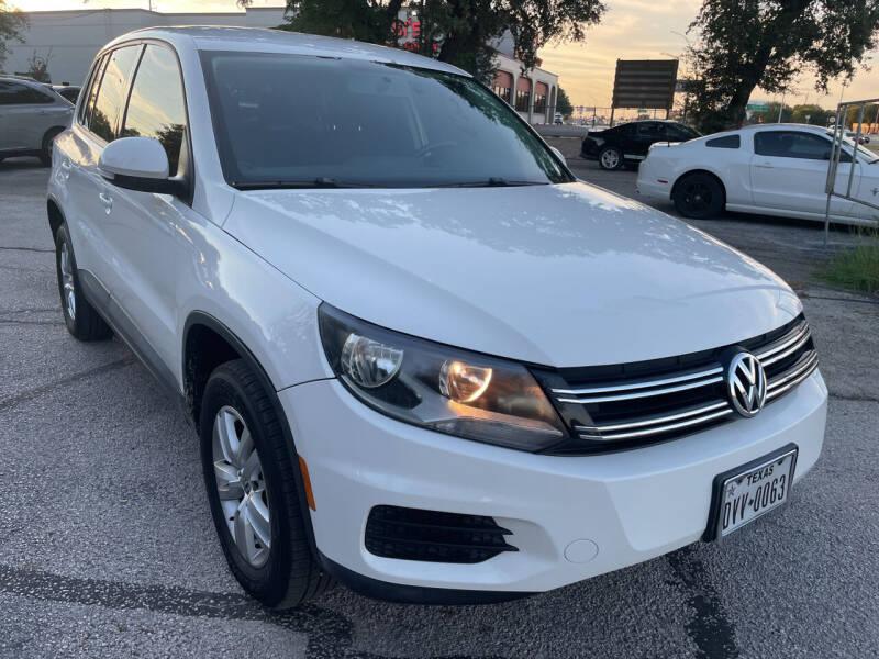 2014 Volkswagen Tiguan for sale at PRESTIGE AUTOPLEX LLC in Austin TX