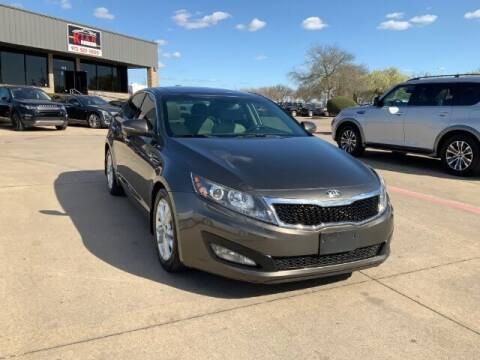 2013 Kia Optima for sale at KIAN MOTORS INC in Plano TX