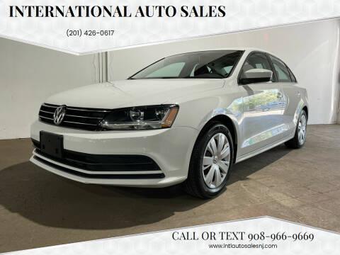 2017 Volkswagen Jetta for sale at International Auto Sales in Hasbrouck Heights NJ