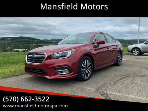 2019 Subaru Legacy for sale at Mansfield Motors in Mansfield PA