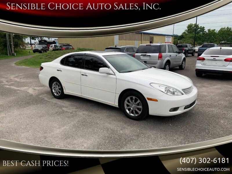 2004 Lexus ES 330 for sale at Sensible Choice Auto Sales, Inc. in Longwood FL