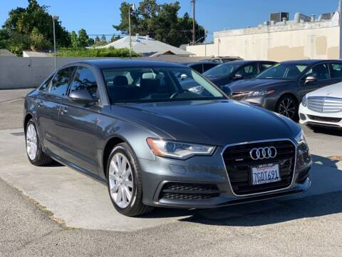 2014 Audi A6 for sale at H & K Auto Sales & Leasing in San Jose CA