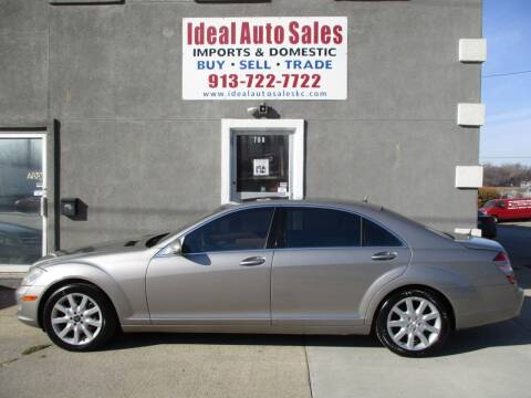 2007 Mercedes-Benz S-Class for sale at Ideal Auto in Kansas City KS