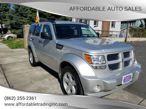 2010 Dodge Nitro for sale at Affordable Auto Sales in Irvington NJ