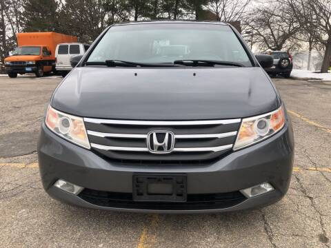 2012 Honda Odyssey for sale at Welcome Motors LLC in Haverhill MA