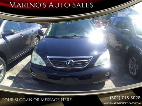 2006 Lexus RX 400h for sale at Marino's Auto Sales in Laurel DE