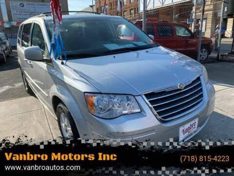 2008 Chrysler Town and Country for sale at Vanbro Motors Inc in Staten Island NY