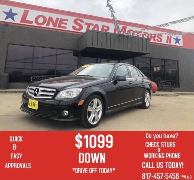 2010 Mercedes-Benz C-Class for sale at LONE STAR MOTORS II in Fort Worth TX