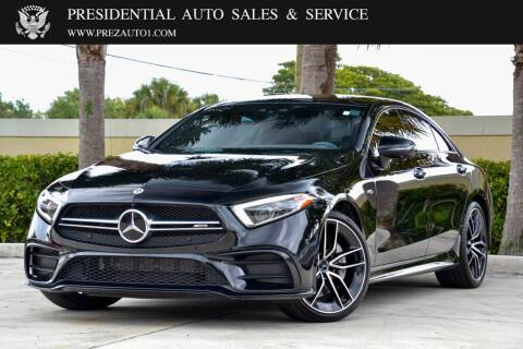 2019 Mercedes-Benz CLS for sale at Presidential Auto  Sales & Service in Delray Beach FL