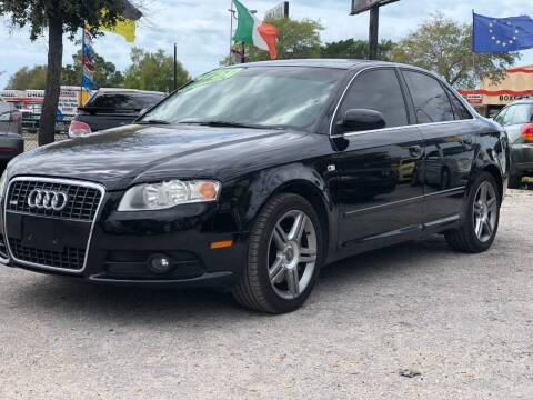 2008 Audi A4 for sale at Pro Cars Of Sarasota Inc in Sarasota FL