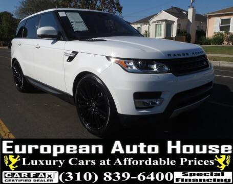 2017 Land Rover Range Rover Sport for sale at European Auto House in Los Angeles CA