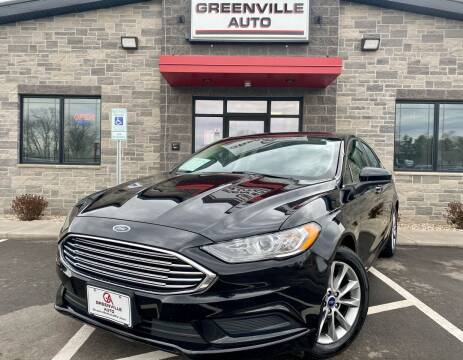 2017 Ford Fusion for sale at GREENVILLE AUTO in Greenville WI