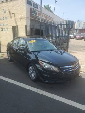 2012 Honda Accord for sale at Key and V Auto Sales in Philadelphia PA