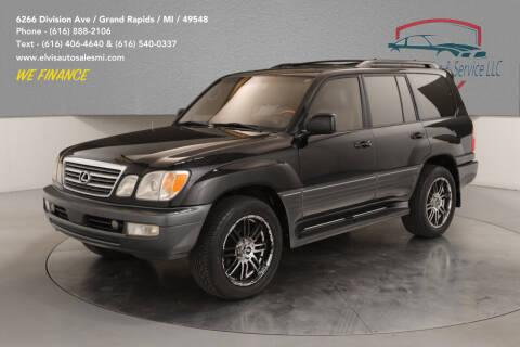 2003 Lexus LX 470 for sale at Elvis Auto Sales LLC in Grand Rapids MI