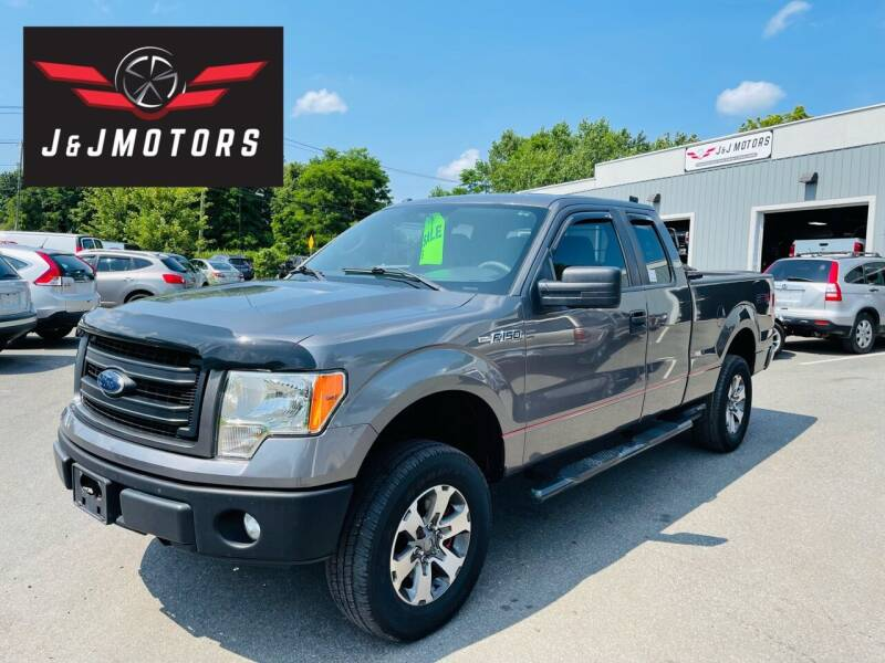 2013 Ford F-150 for sale at J & J MOTORS in New Milford CT