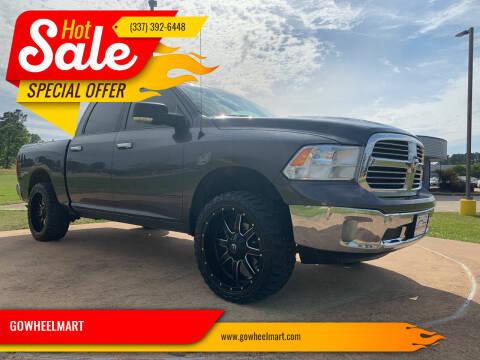 2017 RAM Ram Pickup 1500 for sale at GOWHEELMART in Leesville LA