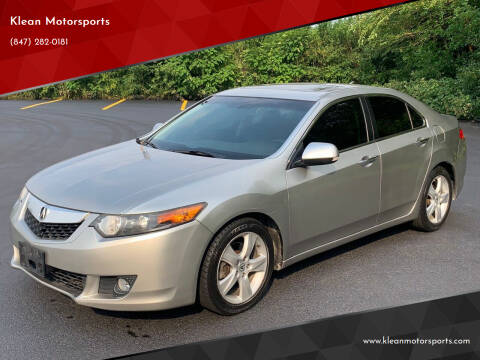 2010 Acura TSX for sale at Klean Motorsports in Skokie IL