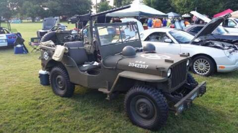 1946 Jeep CJ2A for sale at Haggle Me Classics in Hobart IN