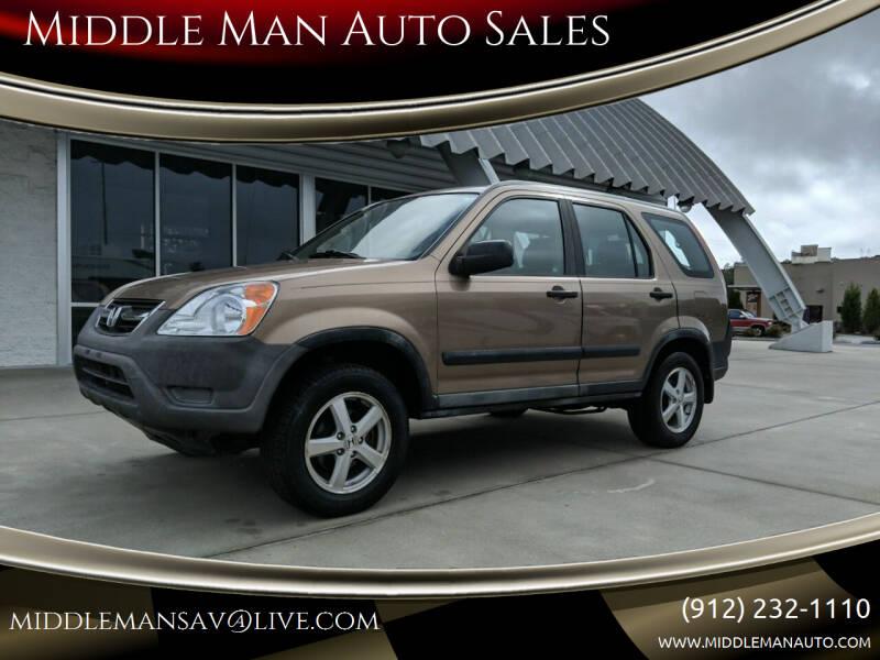 2002 Honda CR-V for sale at Middle Man Auto Sales in Savannah GA