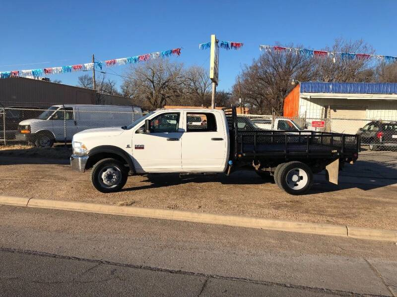 2012 RAM Ram Chassis 4500 for sale at Ramsey Auto Sales in Wichita KS